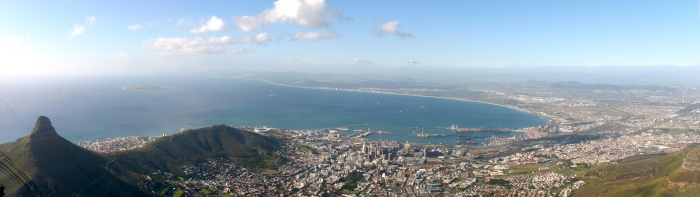 Panorama da Table Mountain